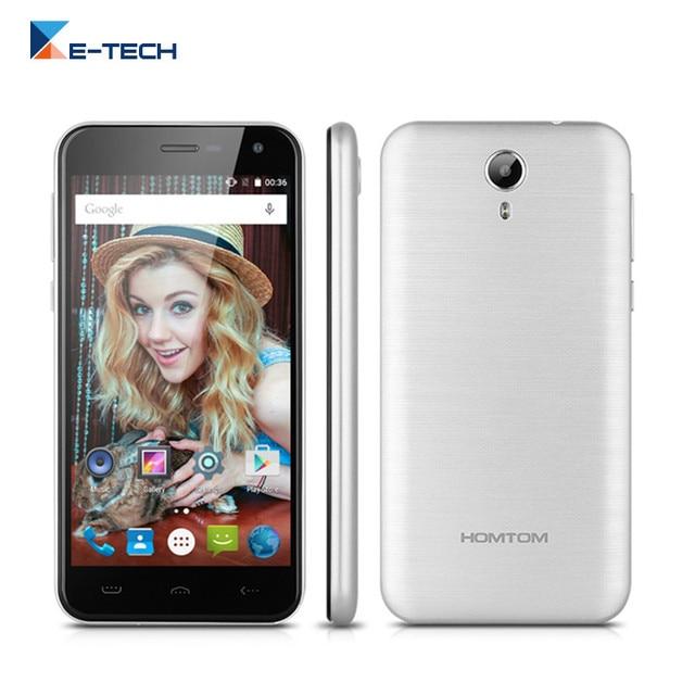 Original HOMTOM HT3 MTK6580 Quad core Smartphone 5.0 inch IPS 1280*720 Android 5.1 Cellphone 1GB RAM 8GB ROM GPS Mobile Phone