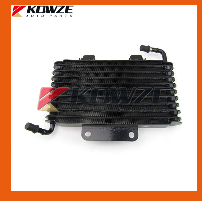 ФОТО Auto Transfer Oil Cooler Transmission Gear BOX Radiator For Mitsubishi Pajero Montero Shogun 3 4 III IV MR453639