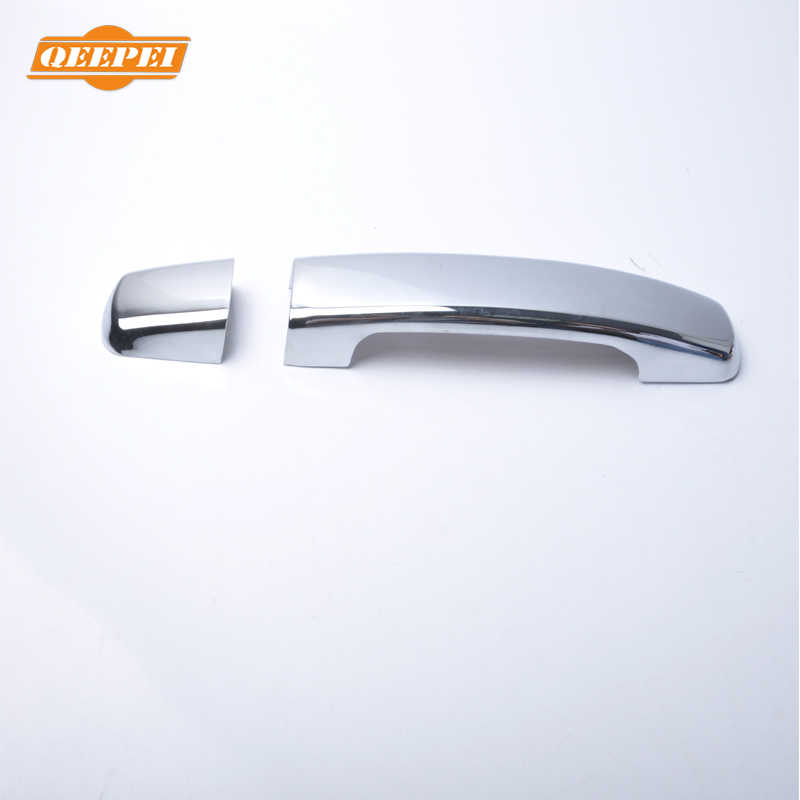 QEEPEI 8PCS New Car Door Handle Cover Outsides For Nissan Qashqai 2007 2008 2009 2010 2011 2012 2013 Car Auto Accessories QDC056