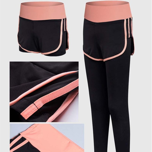 RealLion 5pcs/set Women Yoga Sets Running Sports Bra Shorts Shirt Coat Set Fitness Gym Push Up Seamless Bras Tops Elastic Pants