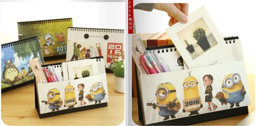 Kalender, Planer Und Karten Neue Mode Tischkalender Freies Kundenspezifisches Design Und Logo Auf Kalender Office & School Supplies