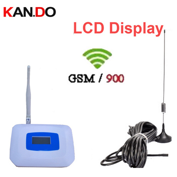 55dbi LCD display GSM booster kits GSM repeater 900mhz booster mobile phone repeater gsm signal enlarger with antennas & cable