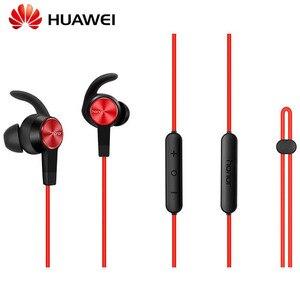 Image 3 - Originele Huawei Honor xsport AM61 Oortelefoon Bluetooth draadloze met Mic Volumeregeling Luidspreker In Ear headset voor iOS Android