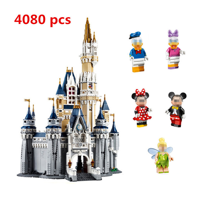 New LEPIN 16008 Cinderella Princess Castle City Set Model Building blocks Block DIY Toys Education Gifts Compatible 71040 Palace new lepin 23015 science and technology education toys 485pcs building blocks set classic pegasus toys children gifts
