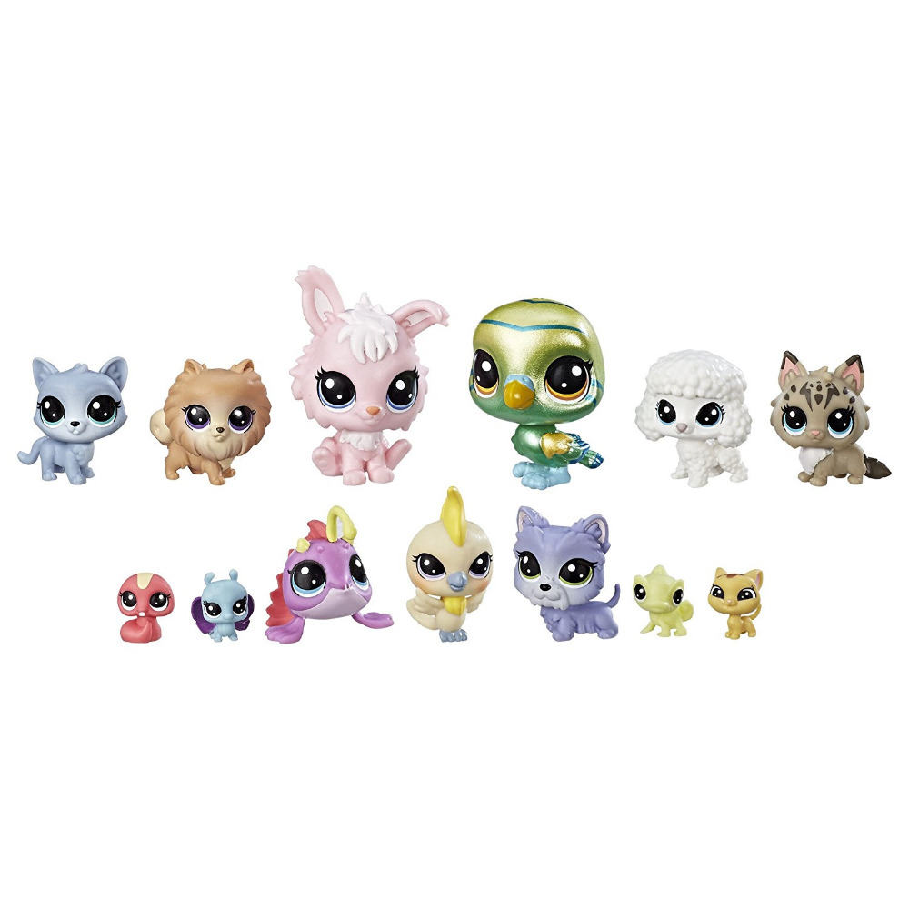2017 LPS The Diva Squad figures Collection toy in box lps lps toy bag 20pcs pet shop animals cats kids children action figures pvc lps toy birthday gift 4 5cm