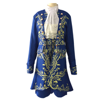 2017 Cartoon Beauty And The Beast Cosplay Adult Costumes Prince Adam Cosplay Clothes Adam Men Halloween