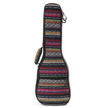 23inch Ukulele Bag Soft Pad Cotton Folk Style Hand Portable Case Cover