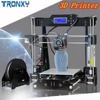 TRONXY P802M DIY 3D Printer Kit 220*220*240mm 3D Printer Printing Size Supports Offline Printing 1.75mm 0.4mm
