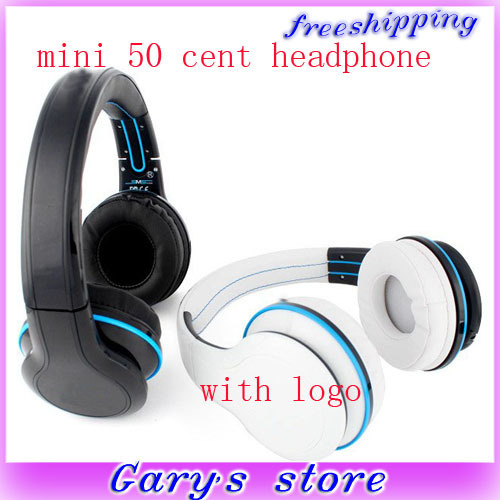 2013 new arrival SYNC Mini 50 Cent Headphone by Audio Wired Headset Street DJ Earphone 50CENT with box