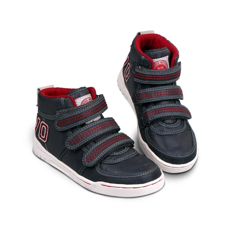 b660bca9423 Cheap Zapatillas de deporte Uovo marca moda Primavera Otoño Invierno niñas  niños Zapatos casuales alto Top