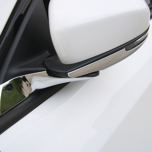 Image 3 - MOPAI ABS Car Interior Rear View Side Rearview Mirror Base Decoration Trim Stickers For Jeep Compass 2017 Up Car Styling