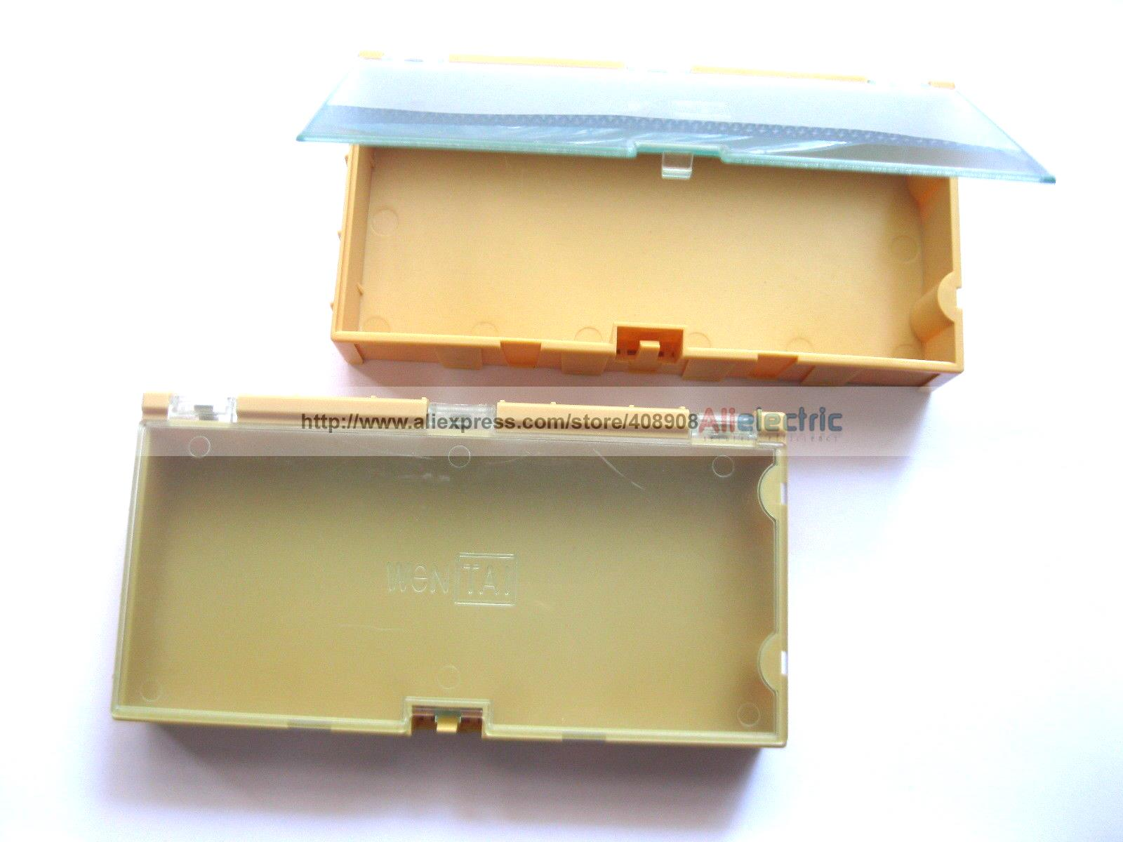 20 Шт. Желтый Ящик Для Хранения SMD SMT Электронных Компонентов, Использование Новый
