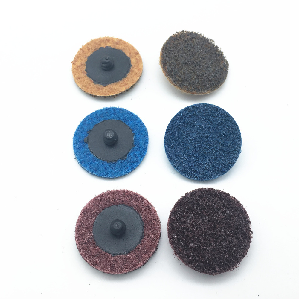 "10pcs 2/""50mm Coarse Surface Sanding Disc Abrasive Pad Roll Lock Fit Roloc Holder"