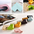 8pcs U form Baby Kids Safety Soft Desk Table Corner Edge Flexible Safe 8 colors security edge protector Glass Coffee Table edge