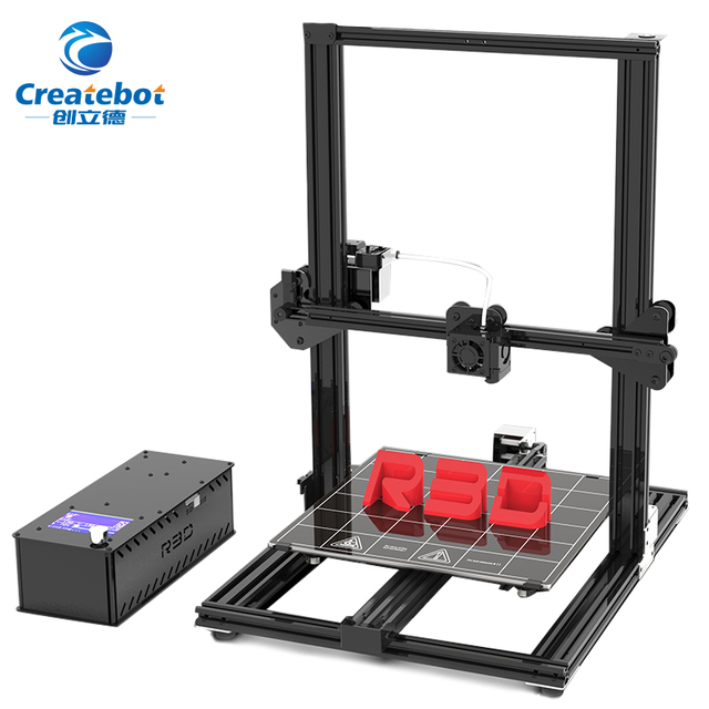 Createbot S3 3d printer Larger print size and high precision 3D Printer Resume print after power failure 3D DIY KIT 110C Hotbed