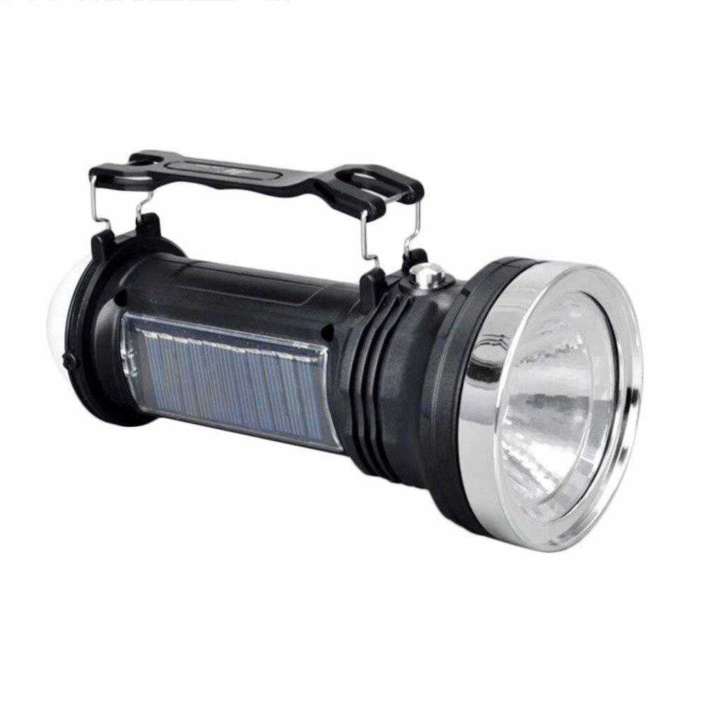 Multifunctional Super Brightness High Power Solar Charging Torch Light Portable Outdoor Camping Hiking Lantern Light New
