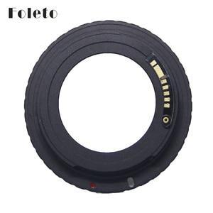 Image 1 - Foleto AF كاميرا M42 E الأسود AF تأكيد محول تركيب لعدسة M42 لكانون EOS EF كاميرا EOS 5D / EOS 5D مارك II / EOS 7D