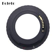 Foleto Af Camera M42 E Zwart Af Bevestig Mount Adapter Voor M42 Lens Om Voor Canon Eos Ef Camera Eos 5D/Eos 5D Mark Ii/Eos 7D