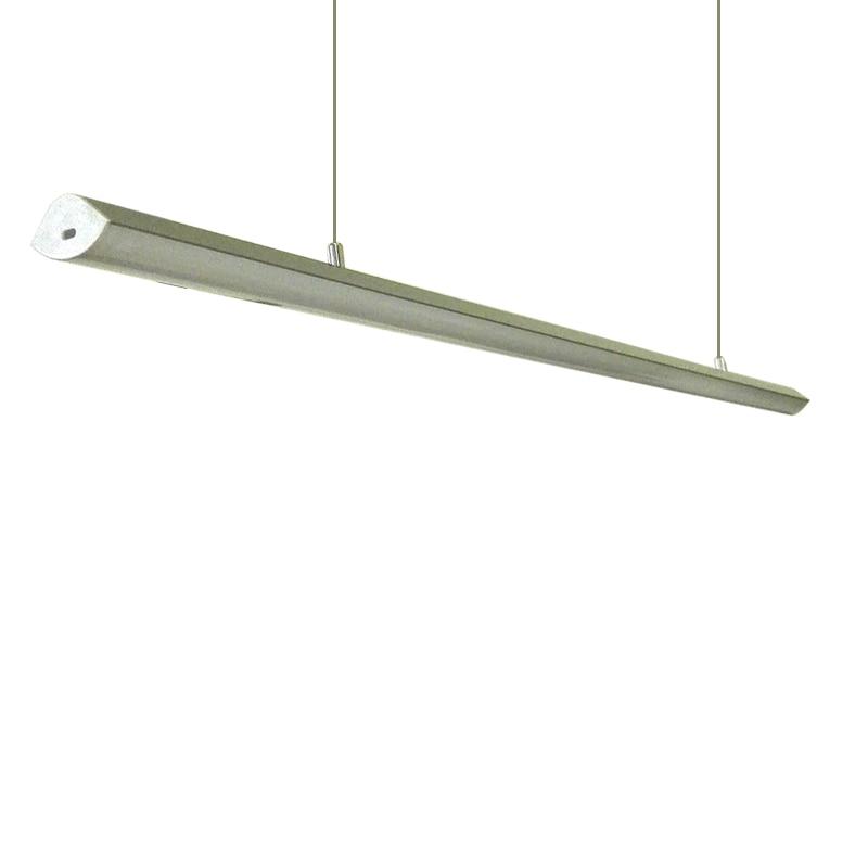 6 pz / pacco alluminio led lampada a sospensione profilo 1 m 144 leds - Illuminazione a LED