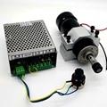 500 W четырехтактный двигатель с воздушные охлаждением двигатель шпинделя + Скорость блок питания + приспособление печатной шпиндель для гра...