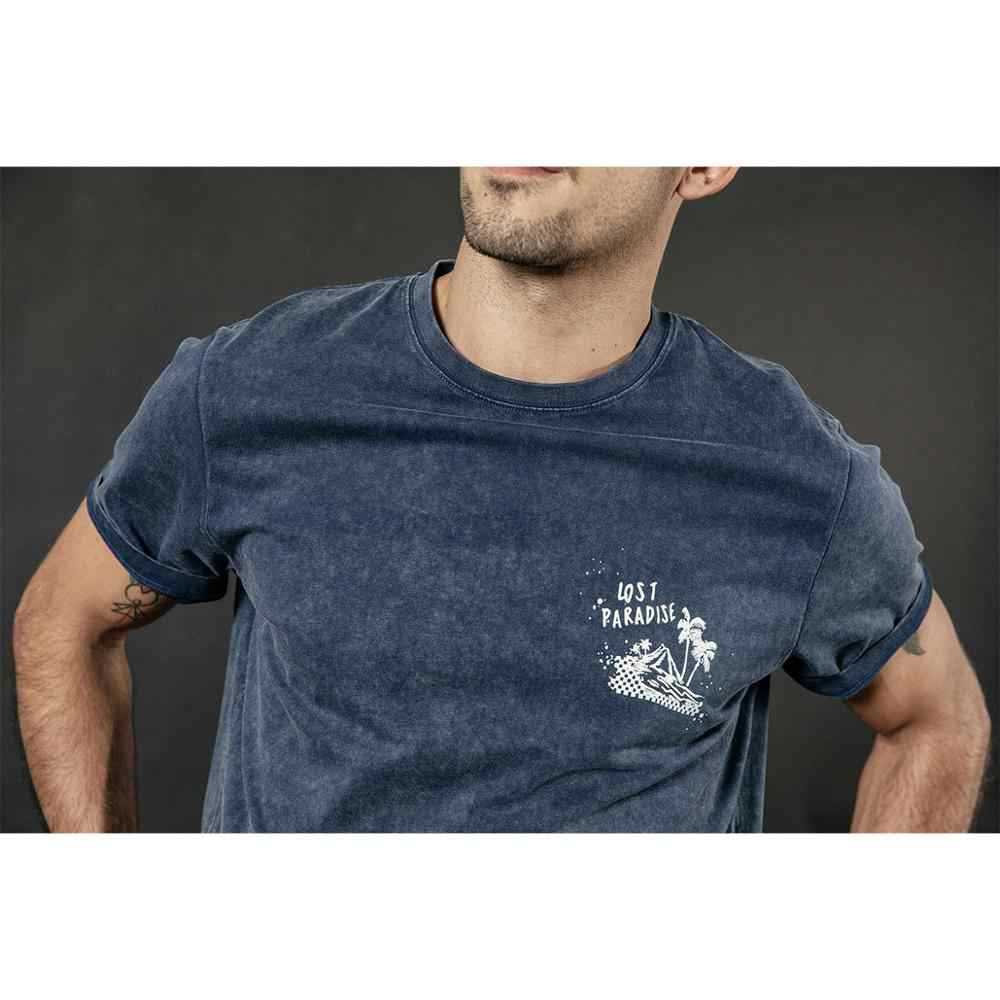 SIMWOO 2019 夏新ヴィンテージ洗浄 tシャツ男性ファッション柄プリント高品質綿 100% ヒップホップ tシャツトップ 190252