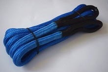 """Free Shipping Blue 3/4""""*30ft  Kinetic Recovery Rope,Energy Rope,Synthetic Winch Rope,Recovery Rope"""