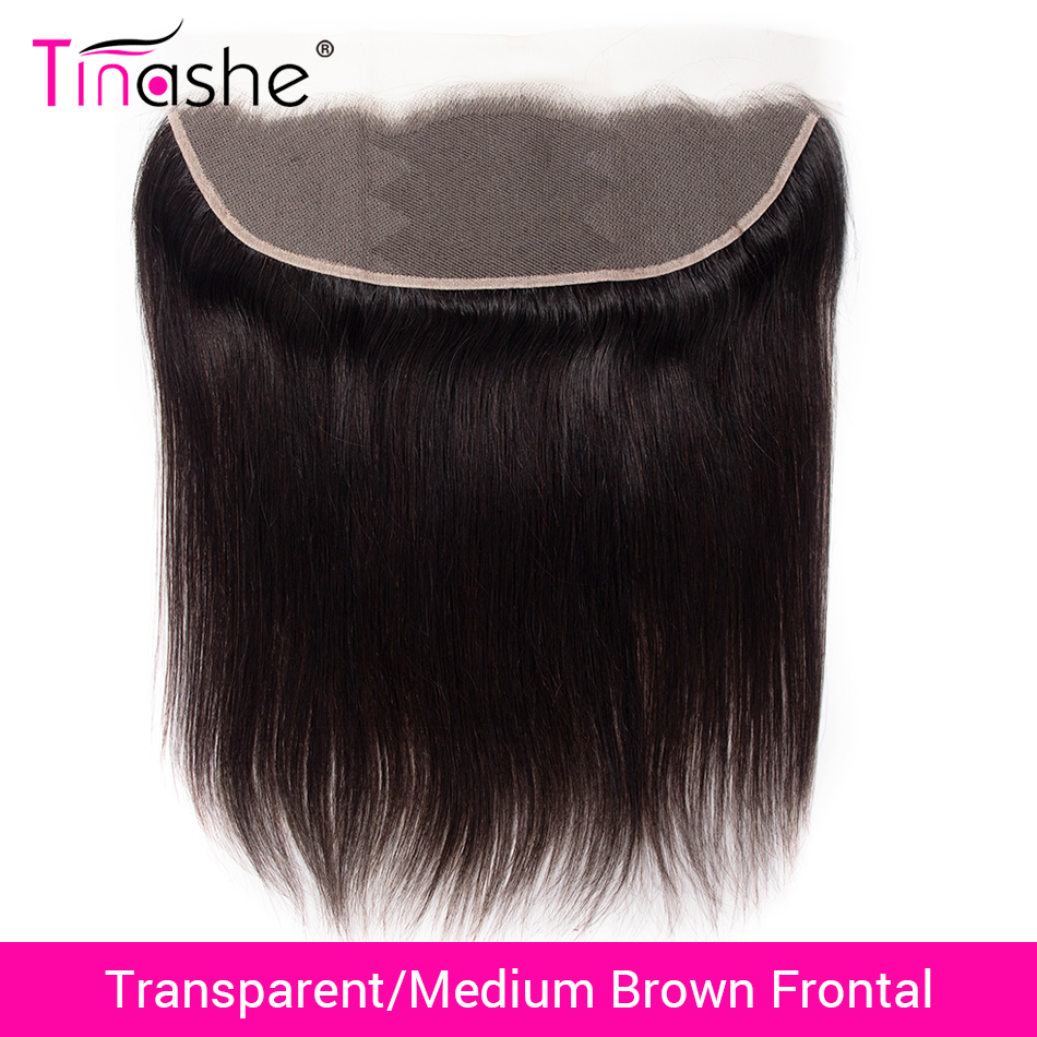 Tinashe Straight Hair Closure Lace-Frontal Transparent Swiss Brazilian HD title=