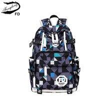 Fengdong синий водонепроницаемая ткань высокой школьные сумки для мальчиков большой рюкзак для ноутбука мужские дорожные сумки мужские повседневные школьный