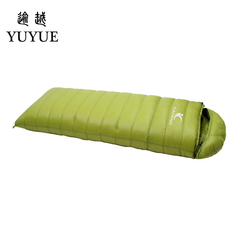 Tourism camping equipment sleeping bag adult  for tourist camping tent envelope type survival sleeping bag down sleeping bag 0