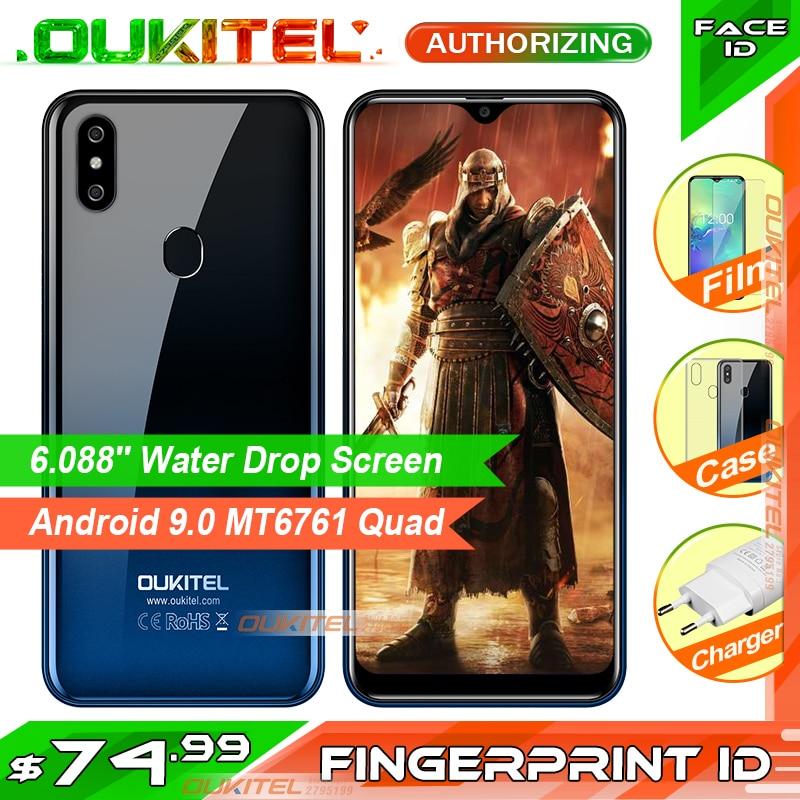 OUKITEL C15 Pro 6 088 MT6761 2GB 16GB 3GB 32GB Mobile Phone Fingerprint Face ID 4G