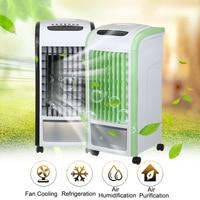 60 Вт 220 В испарительный охладитель воздуха вентилятора Портативный стационарном Электрический вентилятор мини Кондиционер устройства Cool у