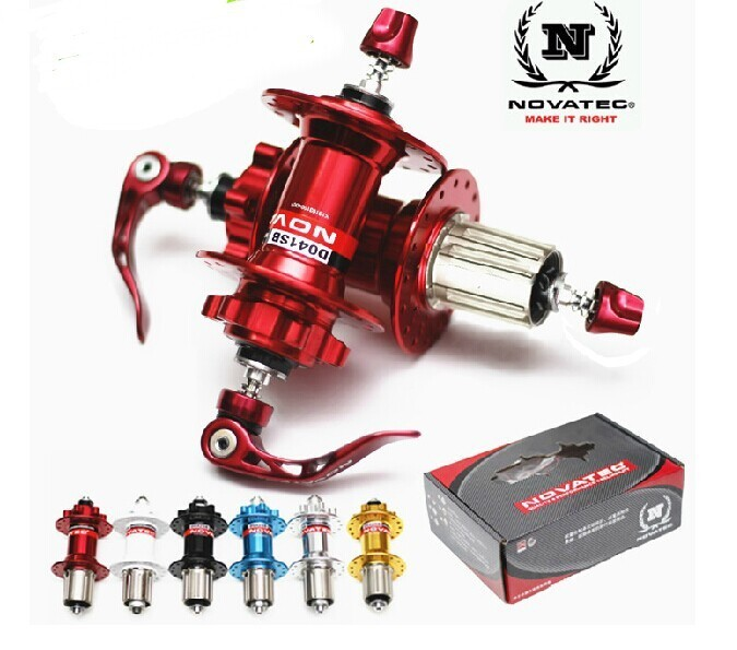 Novatec D041SB/D042SB MTB disc brake Hub 24H/28H AL7075 Cassette Body 4 Bearing Mountain Bicycle Hub/ 9speed 10 speed bike hub novatec hub d041sb d042sb disc card brake mtb mountain bearing bicycle hubs 24 28 32 36 holes 24h 28h 32h 36h bike hub bearing