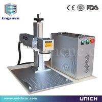 Европейское Качество Волокна Лазерная 30 Вт волоконно лазерная маркировочная машина