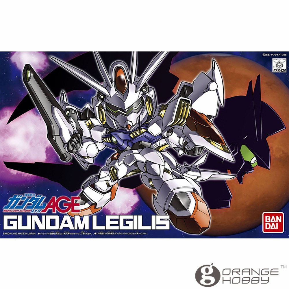 OHS Bandai SD BB 374 Q-Ver Gundam Legilis Mobile Suit Assembly Model Kits oh bandai bandai gundam model sd q version bb 309 sangokuden wu yong bian xiahou yuan battle