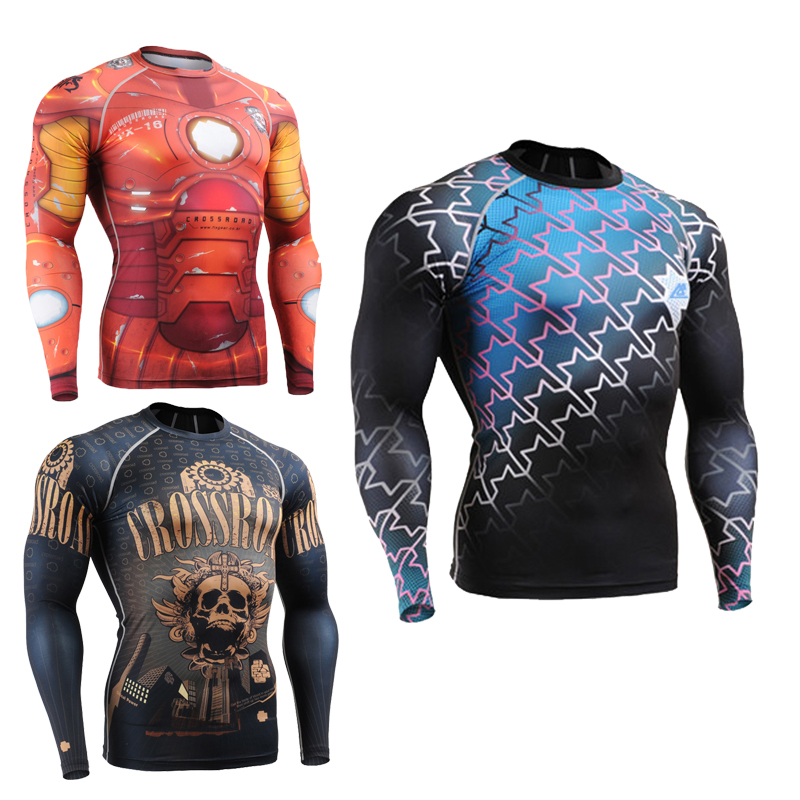 FIXGEAR CFL//P2L-B19P SET Compression Shirts /& Tights for Workout MMA Training