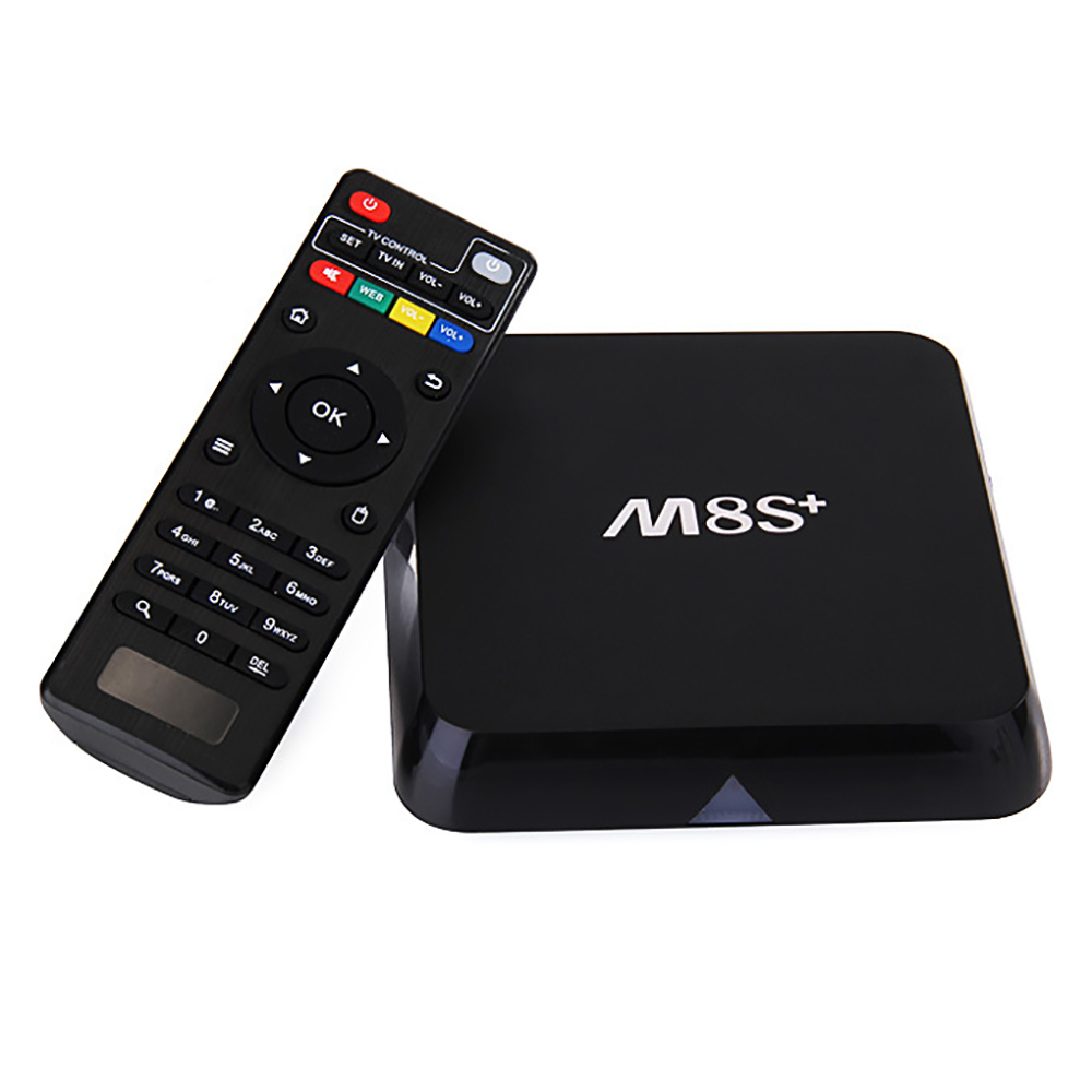 [Free I8 keyboard] M8S+ Plus Android 5.1 TV Box Streaming Media Players 2G/8G Amlogic S812 Quad Core 4K1000M Fully Loaded