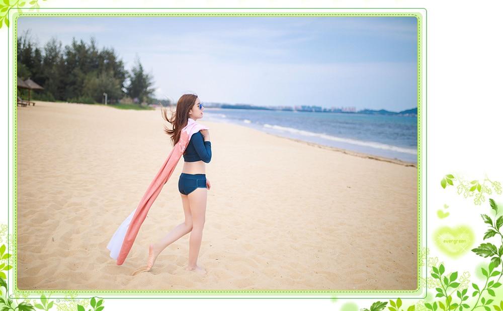 Rash guard swimsuit (1)