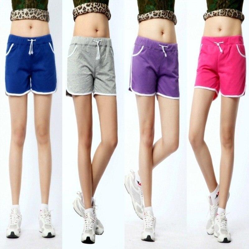 cotton short ado fille girls candy color elastic waist. Black Bedroom Furniture Sets. Home Design Ideas