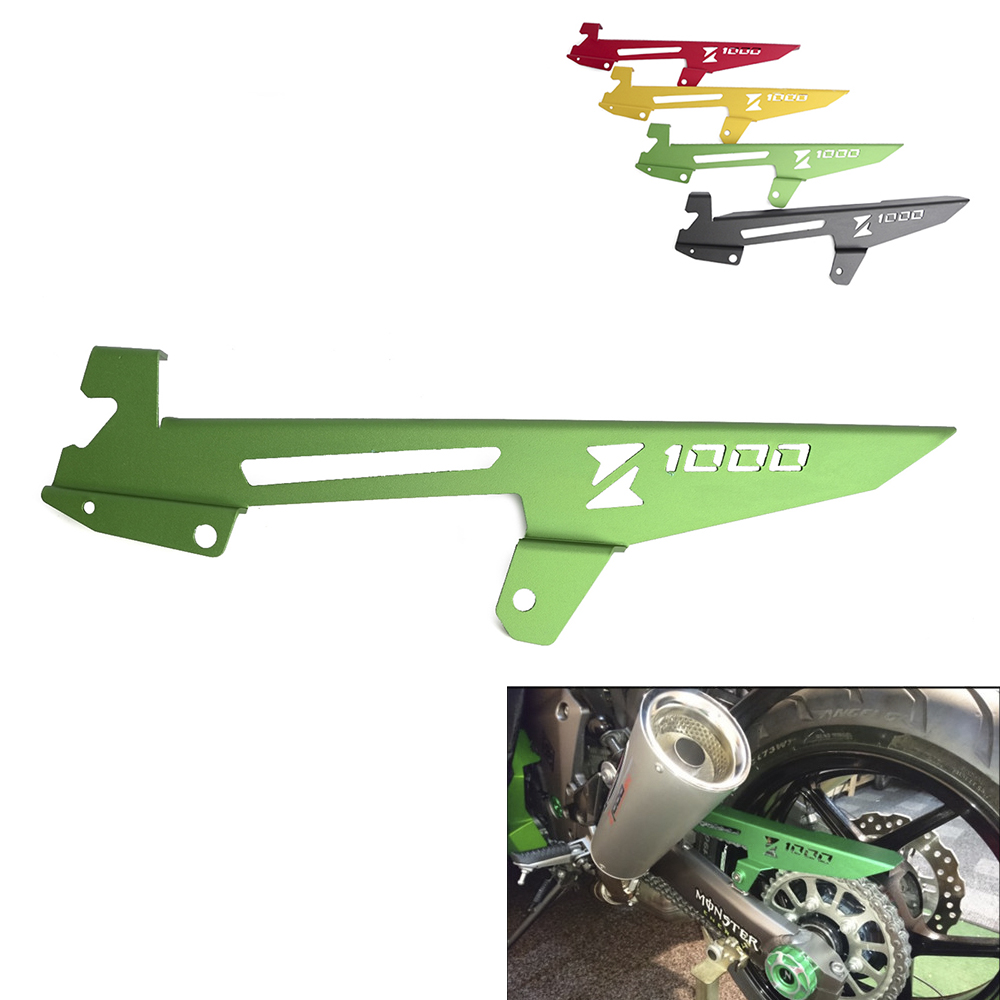 Motorcycle Chain Guard Cover For Kawasaki Z1000 2010-<font><b>2016</b></font> <font><b>Z1000SX</b></font> 2011 2012 2013 2014 2015 <font><b>2016</b></font> Chain Protector Guard Cover image