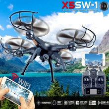 Syma Brand Remote Control Quadcopter Childrens Christmas Gift Rc Drone with  WiFi Camera and Electronic Compass Outdoor Hobby