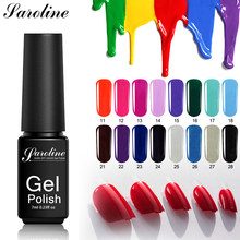 Saroline Soak Off LED UV Lamp French Manicure Gel Varnish 29 Colors Quality Uv Nail Gel Polish Semi Permanent Lucky Gel Lacquer(China)