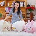 Kawaii 65cm animal Plush Toys Rabiit Cat Chicken Pillow Doll Plush Toy Chicken Doll For children and friend gift birthday gift