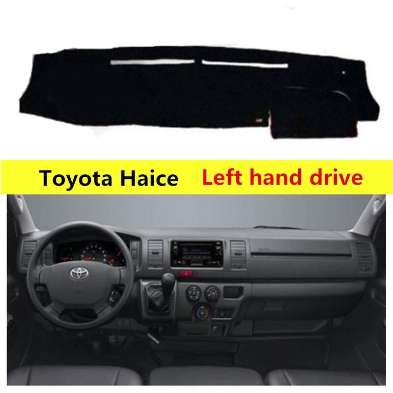 TAIJS Polyester Fibre Car Dashboard Cover For Toyota Haice