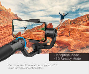 3-Axis Handheld Gimbal Stabilizer for iPhone Xs Max Xr X 8 Plus 7 Huawei & Samsung S9 Gopro Action Camera Visual Auto-tracking