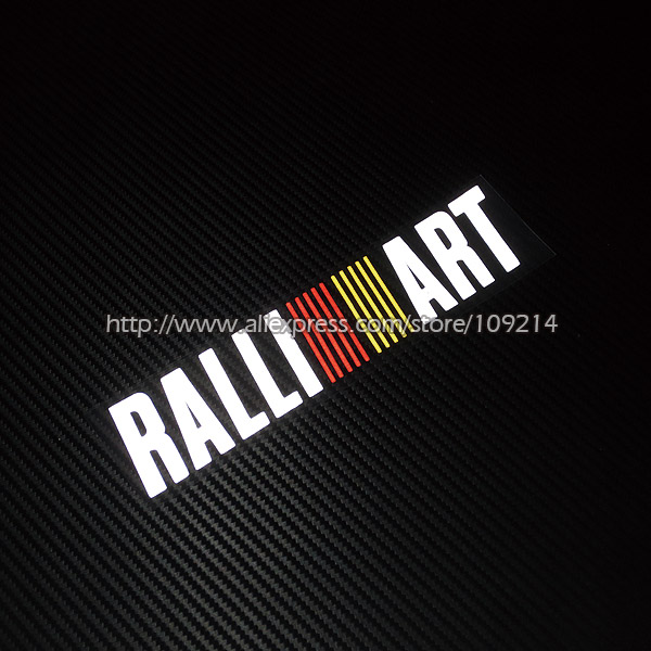 FOR Mitsubishi  RALLIART Lancer Evolution EVO Auto Car Decal Sticker PVC Waterproof ветровики prestige mitsubishi lancer 10 sd hb 07