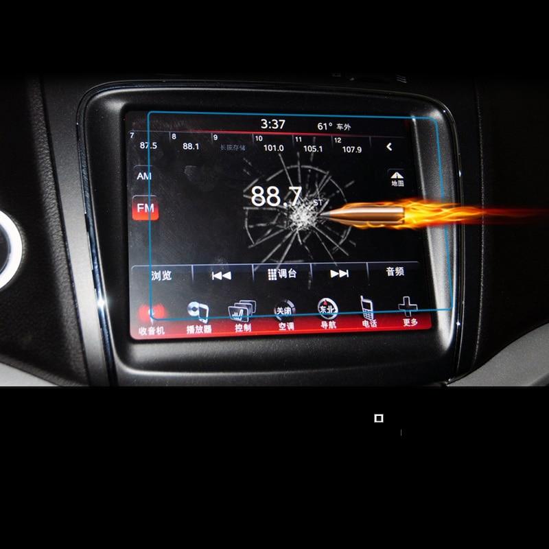 lsrtw2017 car Navigation screen Tempered film for fiat Viaggio Dodge Dart fiat freemont Dodge Journey fiat Ottimo