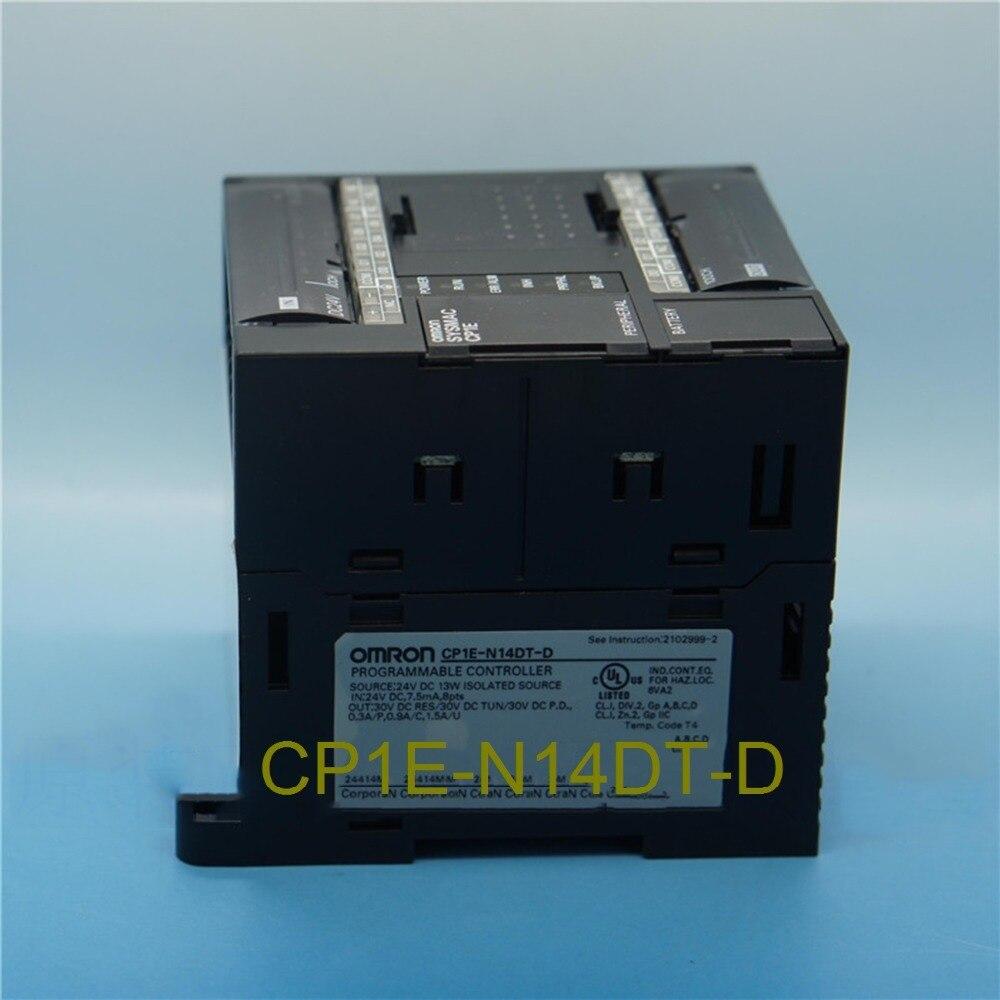 New and original CP1E-N14DT-D OMRON Plc controller Relay output CP1E N14DT dhl eub 2pcs original for omron plc cp1e e10dt d new 15 18