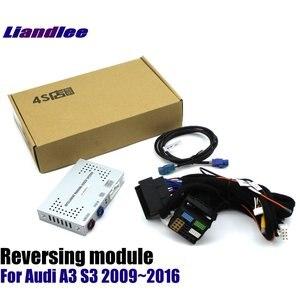 Камера заднего вида для Audi A3 8V S3 MMI 3g 2009 ~ 2020, адаптер интерфейса для парковки, фронтальная камера заднего вида дисплей, улучшенный декодер