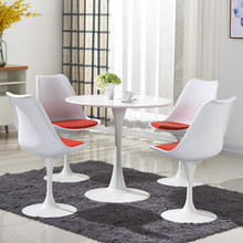 Swivel chair dining chair modern minimalist casual fashion cafe negotiation table and chairs(China)