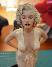 Free Shipping NEW Hot! Sexy Modern Times Goddess Monroe Marilyn blondes1/4 Statue PVC Action Figure Collection Toys Dolls 45cm